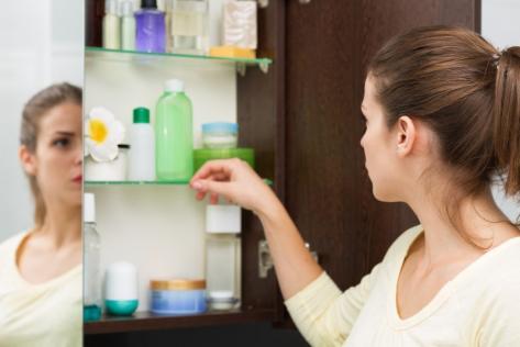 produits pour salle de bain